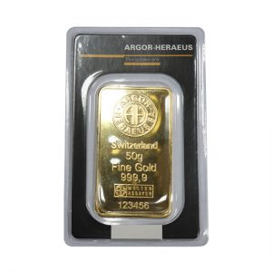 Switzerland 50g Fine Gold 123456