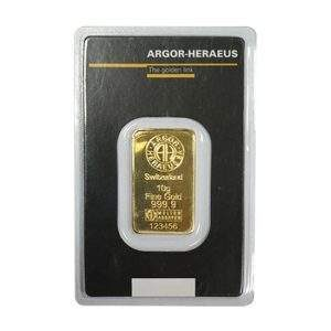 Switzerland 10g Fine Gold 123456