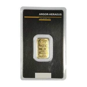 Switzerland 5g Fine Gold 123456